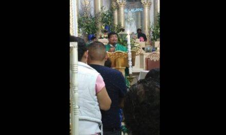 Asegura arzobispo que usurpación de párroco en Huehuatlan es delito federal