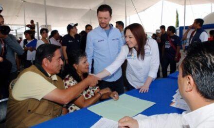El Ayuntamiento de Puebla llevo servicios integrales a habitantes de agua santa