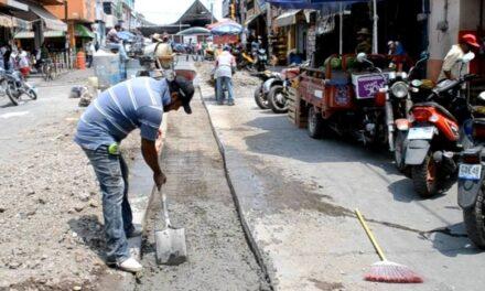 Sosapamim colocó reposición de pavimento