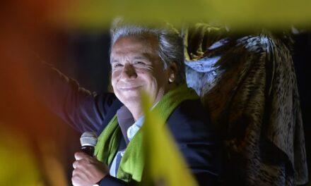 CNE da por ganador a Lenin Moreno como presidente de Ecuador