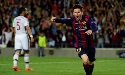 Barcelona golea a Osasuna 7-1