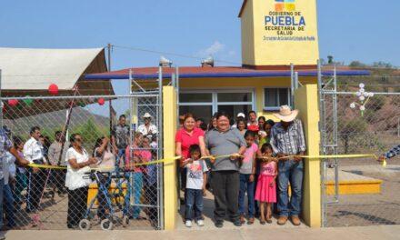 Manuel Madero inauguró Casa  de Salud de Huaxtepec