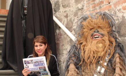 Exhibición de Las Galaxias  en la Feria de Puebla