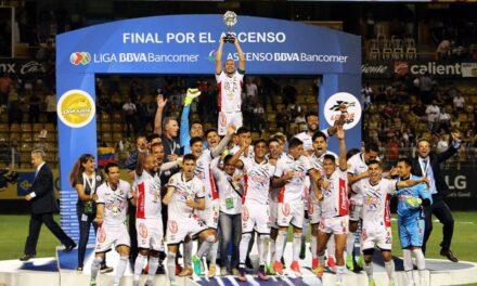 Lobos BUAP están dentro de la Liga MX
