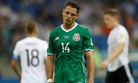 Alemania golea a México 4 a 1