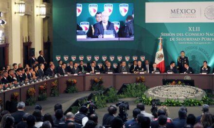 Puebla se suma a los acuerdos del Consejo Nacional de Seguridad Pública
