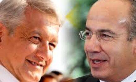 AMLO señaló que también Calderón hizo tratos con Odebrecht, no sólo Lozoya