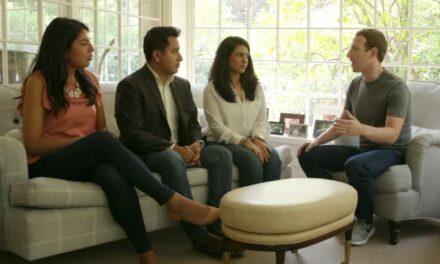 Zuckerberg se reúne con dreamers en su casa