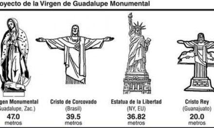México tendrá la virgen más alta del mundo