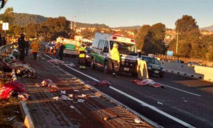 Ocho peregrinos muertos y 10 lesionados dejó accidente