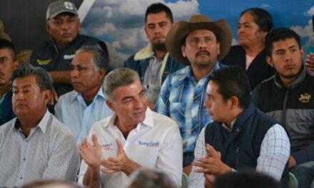 Edwin Mora se reunió con el gobernador a inicios del 2018