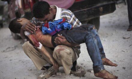 Siria, más de 200 civiles muertos tras cuatro días de bombardeos