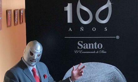 """""""100 años Santo"""", en Casa de la Cultura"""