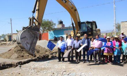 Edwin Mora dio banderazo de inicio de obras en Huaquechula