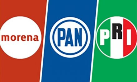PAN gana, Morena, segundo, PRI, tercero