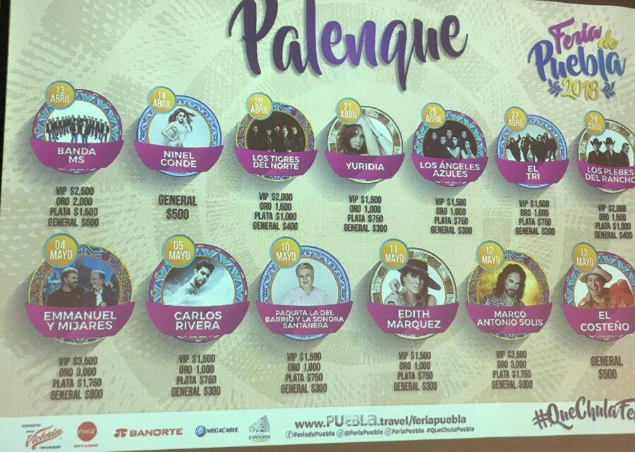 Alejandro Fernández, no estará en Palenque de Puebla