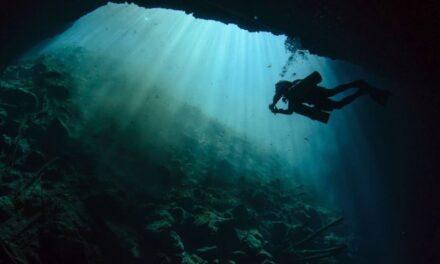 Hallan caverna con vestigios prehispánicos en el cenote Xlacah