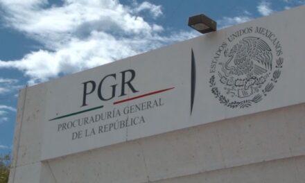 Indagará PGR pago de narcos a ediles