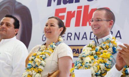 Gobernadores de Acción Nacional brindan su apoyo a Ricardo Anaya y a Martha Erika