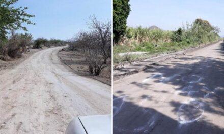 Habilitan camino alterno entre Rijo y Tilapa