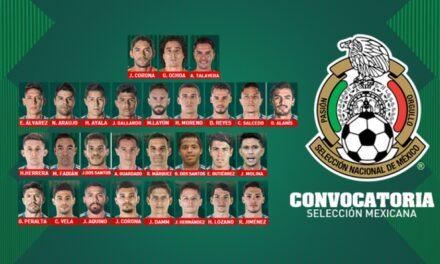 Lista preliminar de la Selección Mexicana para el mundial de Rusia 2018