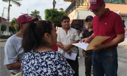 Recorre Melitón Lozano las principales calles de Izúcar