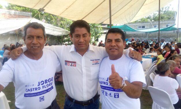 Jorge Castro aseguró que las mujeres serán parte fundamental de su gobierno