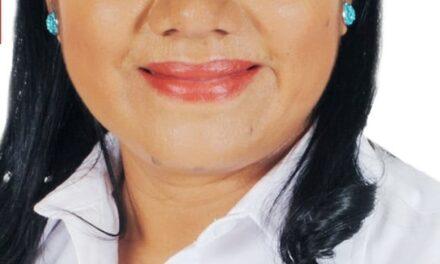 """""""Mi compromiso, el bienestar de los pobladores  de Jolalpan"""": Teresa Gochez Eumaña"""