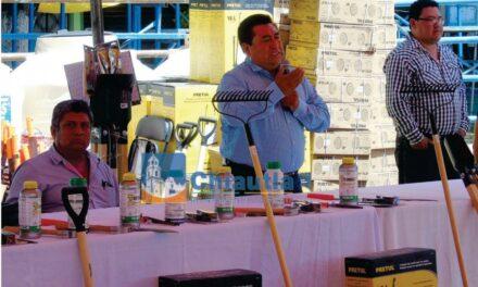 En Chiautla, se realizó el quinto  Tianguis Municipal de la Semilla