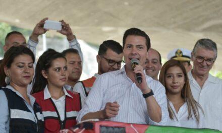 Peña Nieto asegura haber cumplido con el 95 % de sus promesas