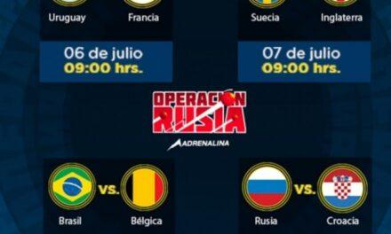 Listos los cuartos de final del Mundial