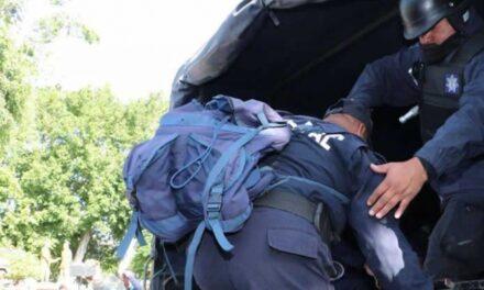 Trasladan 118 efectivos de Tehuacán al C5 de Puebla