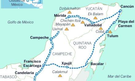 AMLO anuncia proyecto de Tren Maya