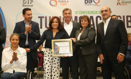 DIF reconoce a puebla por fomentar la inclusión de personas con discapacidad