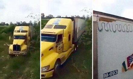 157 cadáveres en tráiler abandonado en Jalisco