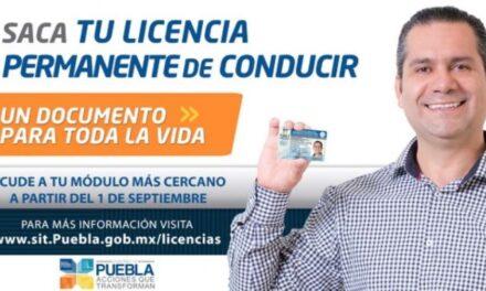 Expedición de licencias en Chiautla de Tapia
