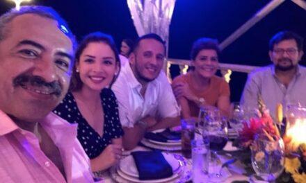 Mientras Sinaloa sufría por las fuertes lluvias los diputados locales celebraban una cena de gala