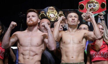 ¿Dónde y a qué hora ver la esperada pelea del Canelo y Golovkin?