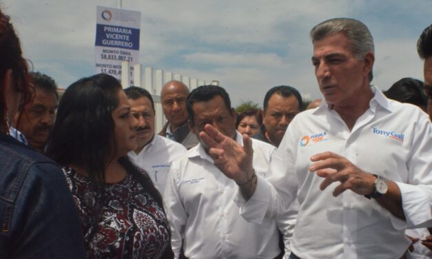Prevén instalación de alarmas sísmicas en escuelas de Epatlán