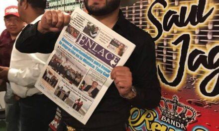"""Saúl """"El Jaguar"""", regresa a Puebla tras  dos años de ausencia"""