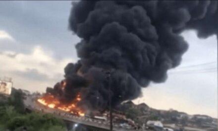 Accidente vehicular en el Congo dejó 50 muertos y 100 personas con quemaduras