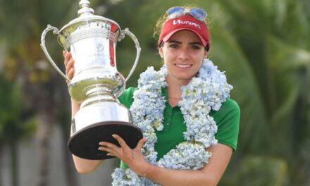 La golfista mexicana Gaby López ganó el torneo LPGA