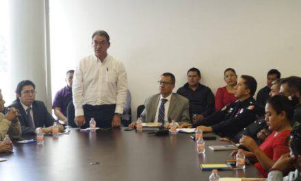 Acuerdan autoridades municipales y estatales trabajo coordinado en seguridad