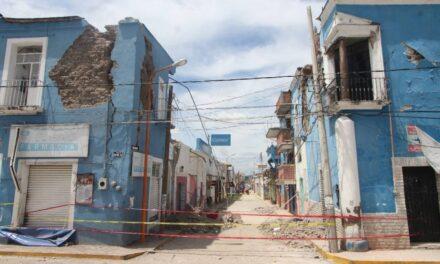 Ayuntamiento de Chietla retiró de las calles escombro del sismo de 2017