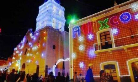 Se encienden las luces de Villa Iluminada en Atlixco