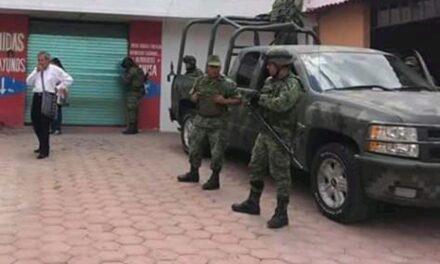 Comienza a patrullar Policía Militar  en Acatlán
