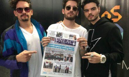 Abraham Mateo, Mau & Ricky ofrecerán show en Puebla
