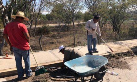 En Huehuetlán el Chico, se realizó la primera jornada para limpiar las calles