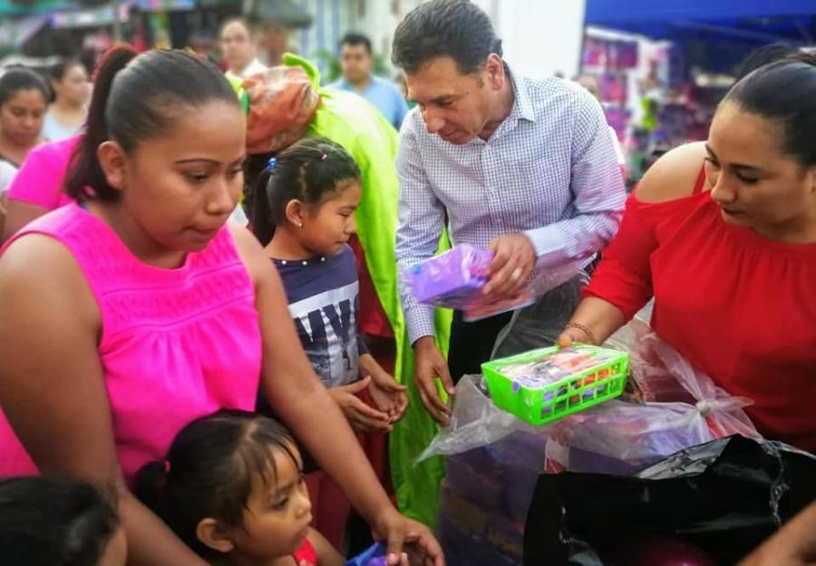 Ayuntamiento de Chiautla reafirmó su compromiso con la niñez