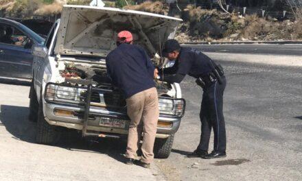 Policía Federal instaló puestos de revisión